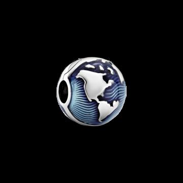 Clip Globo Terráqueo Azul